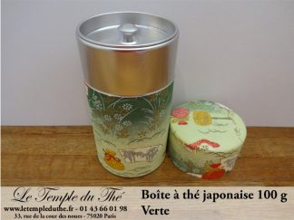 Boîte à thé japonaise. Verte 100 g