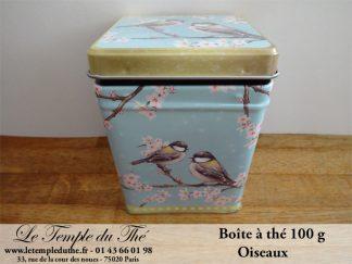 Boîte à thé 100 g oiseaux