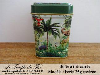 Boîte à thé 25 g forêt