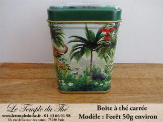 Boîte à thé 50 g Forêt