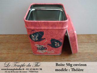 Boîte à thé 50 g théière
