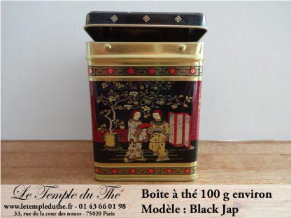Boîte à thé Black Jap 100 g