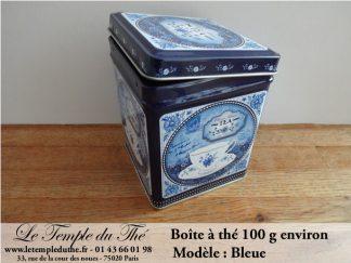 Boîte à thé Bleue 100 g