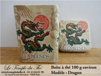 Boîte à thé 100 g Dragon