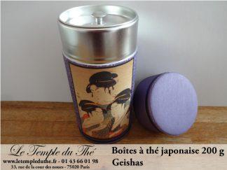 Boîte à thé japonaise 200g Geishas