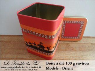 Boîte à thé 100 g Oriental