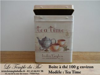 Boîte à thé 100 g Tea Time