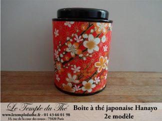 Boîte à thé japonaise Hanayo 100g 2e modèle