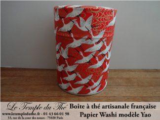 Boîte à thé artisanale française