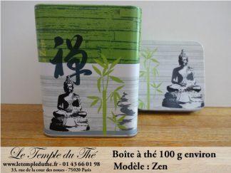 Boîte à thé 100 g Zen