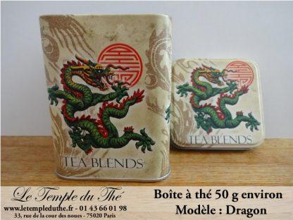 Boîte à thé 50 g Dragon