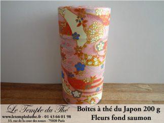 Boîte japonaise 200 g fond saumon