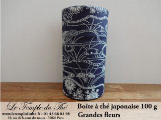 Boîte à thé japonaise. Grandes fleurs 100 g