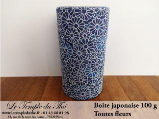 Boîte à thé japonaise. Toutes fleurs 100 g