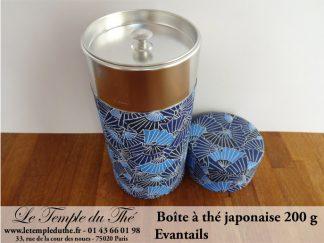 Boîte à thé japonaise. Eventails 200 g
