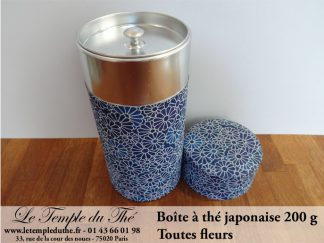 Boîte à thé japonaise. Toutes fleurs 200 g