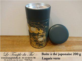 Boîte à thé japonaise 200g verte
