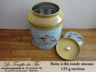 Boîte à thé 125 g oiseaux