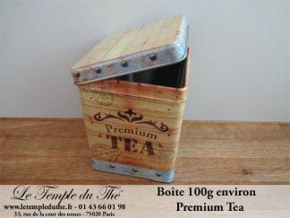 Boîte à thé 100 g Premium Tea