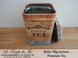 Boîte à thé 50 g Premium Tea