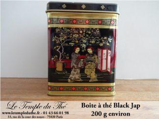 Boîte à thé 200 g Black Jap