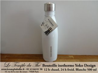 Bouteille isotherme 500 ml blanche