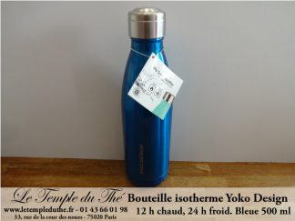 Bouteille isotherme 500 ml bleue