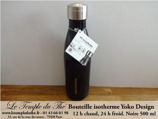 Bouteille isotherme 500 ml noire