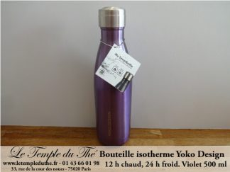 Bouteille isotherme 500 ml violet