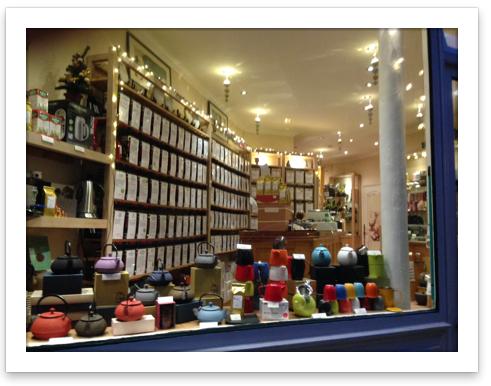 Boutique Meilleurs thés de Paris