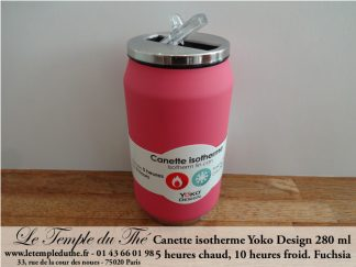 Canette isotherme fuchsia 280 ml