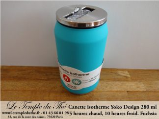 Canette isotherme turquoise 280 ml