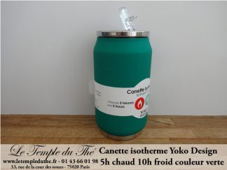 Canette isotherme verte 280 ml