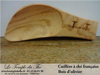 Cuillère française en bois d'olivier