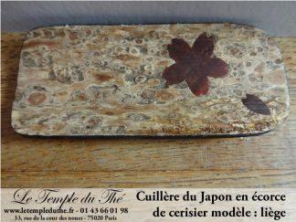Cuillère du Japon en liège