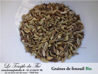 Graines de fenouil bio