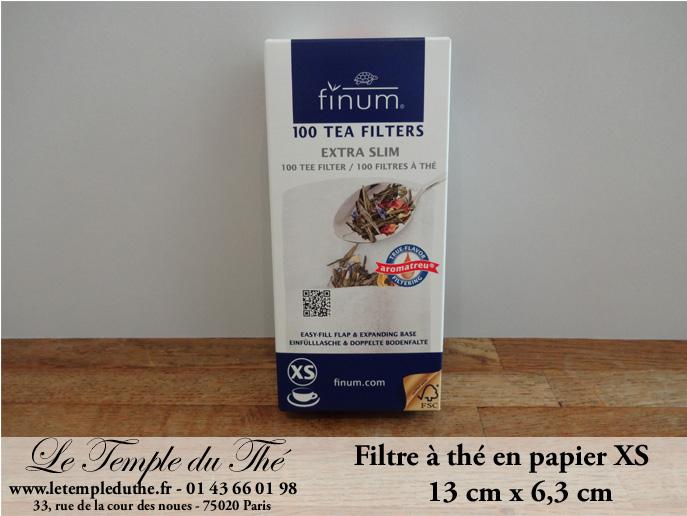 Filtres à thé filtres papier à thé Extra SLIM