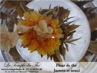 25 thés sculptés Souci et jasmin