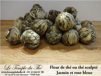 25 fleurs de thés Rose Bleue et Jasmin