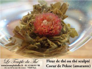 Fleur de thé Coeur de Pékoe
