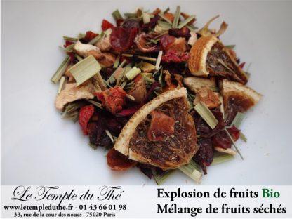 Explosion de fruits séchés BIO