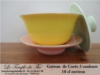 Gaiwan de Corée en porcelaine