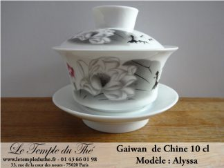Gaiwan en porcelaine de Chine Modèle Alyssa