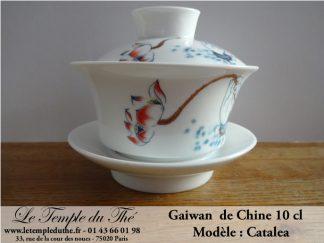 Gaiwan en porcelaine de Chine Modèle Catalea