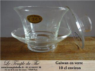 Gaiwan en verre 10 cl