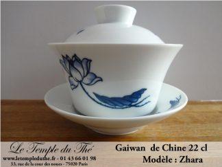 Gaiwan en porcelaine de Chine Modèle Zahra