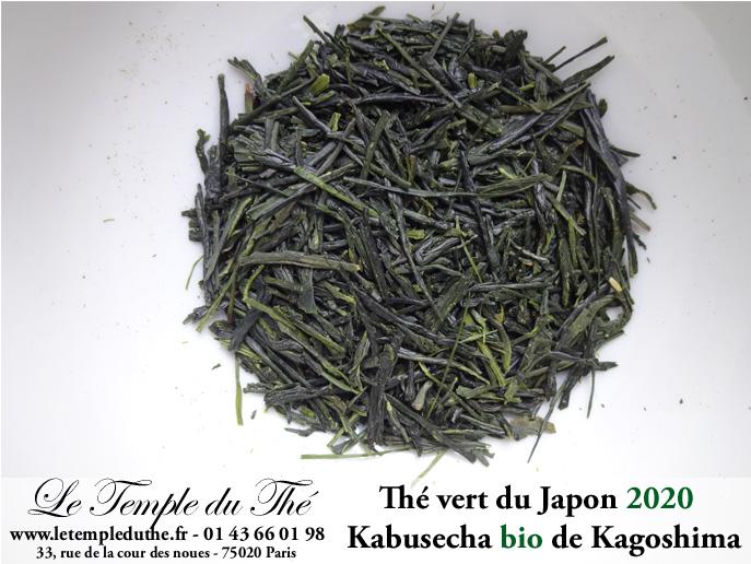Kabusecha Bio 2020 thé vert japonais ombragé