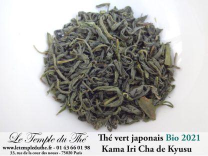 Thé vert japonais BIO Printemps 2021 Kama-iri-cha