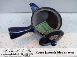 Kyusu japonais bleu 30 cl