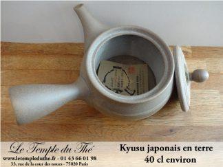 Kyusu en terre du Japon Tokoname 40 cl